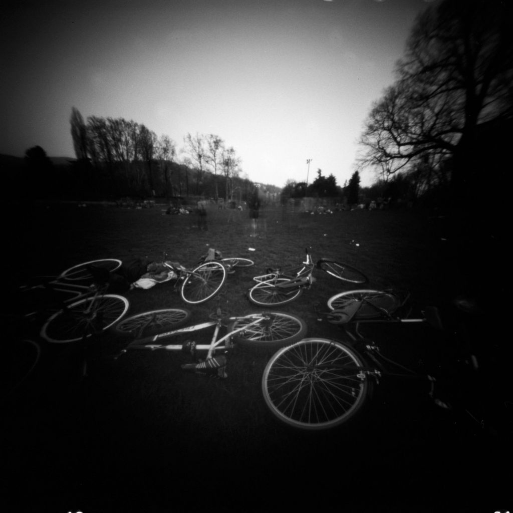 Picture taken with a homemade pinhole camera. Photo by Marco Calabrese